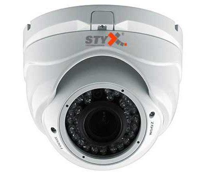 Styx dome varifocal lens kamera
