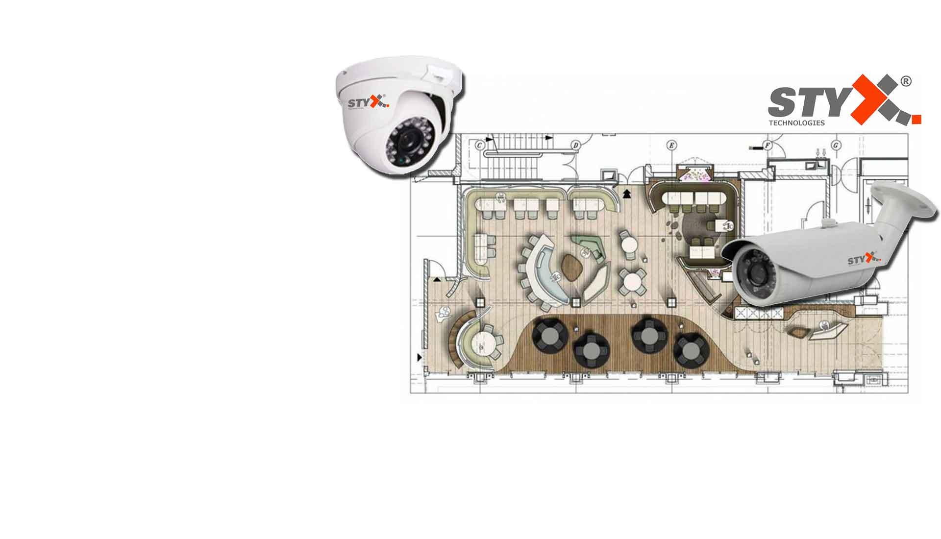 İşyerleri İçin Kamera Sistemleri