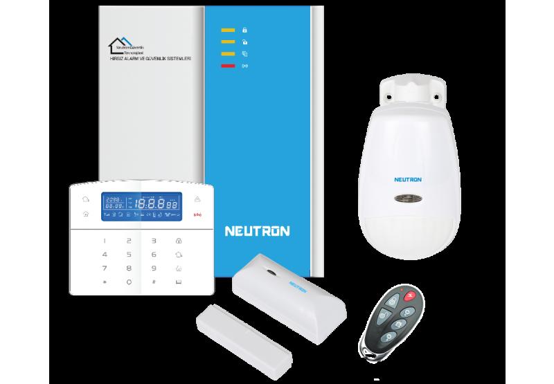 neutron akıllı alarm sistemi, ev otomasyon sistemi